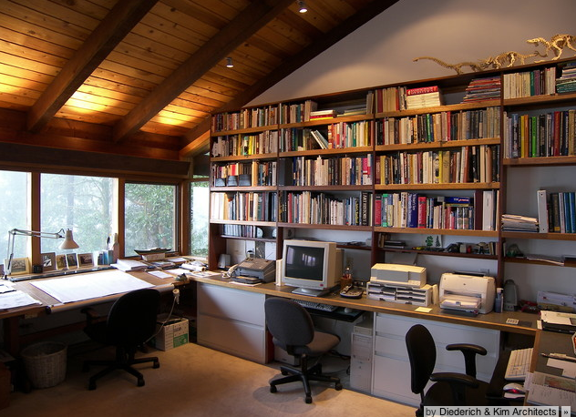 Working From Home Office Feng Shui Design helps boost productivity